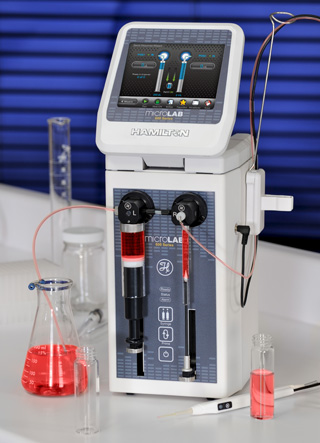 DUAL DILUTER ADVANCED / Microlab 625 Advanced Dual Syringe Diluter