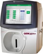 Картриджный анализатор газов крови IL GEM Premier 3500