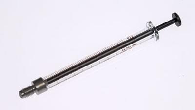 Шприц для HPLC автосемплеров Perkin-Elmer Alcyon, модель 1750 С (химически инертный), объем 500 мкл / 1750 C 500uL Syr Alcyon