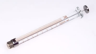 Шприц, сменная игла, игла не включена, модель 702RN, объем 25 мкл / 702 RN 25uL SYR W/O NEEDLE
