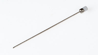 25 gauge, Small Hub RN NDL, custom length (0.375 to 12 in), point style 5 or AS, 6/PK / RN NEEDLE (25/**/5)S 6/PK
