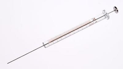Шприц, встроенная игла, модель 1702N, объем 25 мкл, калибр 22s (22s/51/5) / 1702 N 25µL Syr (22s/51/5)