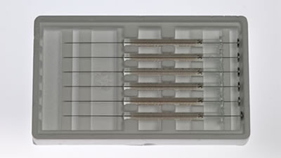 Шприц, встроенная игла (для HP7670/ HP7671/ HP7172), модель 701N, объем 10 мкл, калибр 26s (26s/51/2) / 701 N 10µLSyr(26s/51/2)6p/k