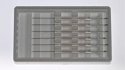Шприц, встроенная игла, модель 701ASN, объем 10 мкл, калибр 23s (23S/43/AS) / 701 ASN 10UL(23S/43/AS)6PK