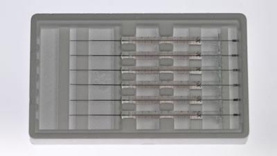 Шприц, встроенная игла, модель 701ASN, объем 10 мкл, калибр 23s-26s (23S/26S/43/AS) / 701 ASN(23S/26S/43/AS)6/PK