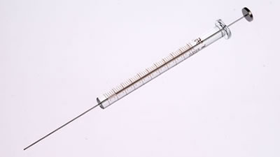 Шприц, встроенная игла, модель 702NR, объем 25 мкл, калибр 22s (22s/51/3) / 702 NR 25µL Syr (22s/51/3)