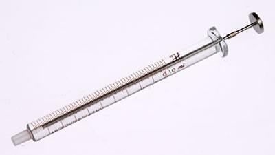 Шприц с  наконечником Луэра (без иглы), модель 710LT, объем 100 мкл / 710 LT 100µL Syr