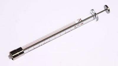 Шприц, соединитель тефлоновый с затвором Луэра, без стопора, игла не включена, модель 1710TLL, объем 100 мкл / 1710 TLL 100µL Syr w/o Stop