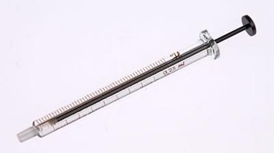 Шприц с  наконечником Луэра, (без иглы), модель 1725LT, объем 250 мкл / 1725 LT 250µL Syr