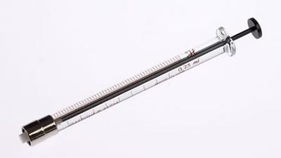 Шприц, соединитель тефлоновый с затвором Луэра, без стопорa, игла не включена, модель 1725TLL, объем 250 мкл / 1725 TLL 250µL Syr w/o Stop