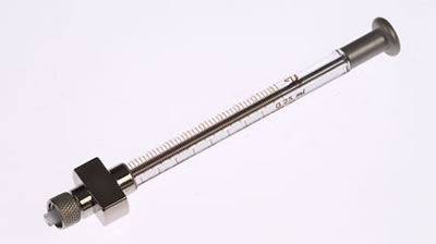 Шприц для дилюторов, модель 1725 DX, объем 250 мкл / 1725 DX 250µL Syr