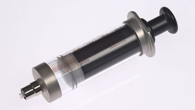 Шприц, соединитель тефлоновый, с затвором Луэра,  (без иглы), модель 1025TLL, объем 25 мл, калибр 22.  / 1025 TLL 25mL Syr