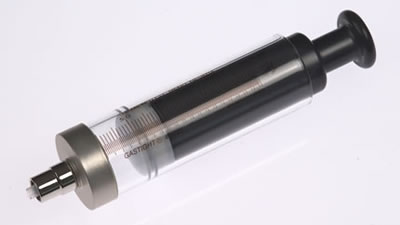 Шприц  соединитель тефлоновый, с затвором Луэра, без фланца, без отверстий (без иглы), модель 1025TLL, объем 25 мл, калибр 22 / 1025 TLL 25mL Syr w/oFlange