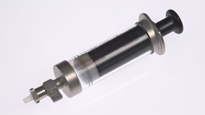 Шприц с клапаном для удерживания образца Purge&Trap, модель 1025, объем 25 мл  / 1025 SLPT 25ml Purge&Trap