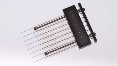 8-канальный шприц, 0,4 мм, калибр 27 / 8 Channel 0.4mm 27 Syr