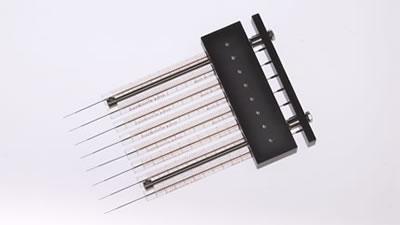 8-канальный шприц, 0,3 мм, калибр 26,5s / 8 Channel 0.3mm 26.5s Syr