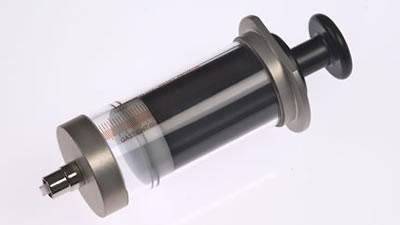Шприц, соединитель тефлоновый, с затвором Луэра, (без иглы), модель 1050TLL, объем 50 мл, калибр 22.  / 1050 TLL 50mL