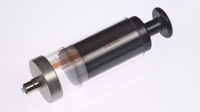 Шприц, соединитель тефлоновый, с затвором Луэра, , без фланца (без иглы), модель 1050TLL, объем 50 мл, калибр 22  / 1050 TLL 50mL Syr w/oFlange