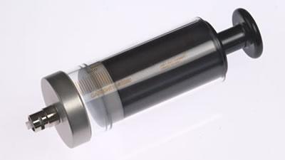 Шприц, соединитель тефлоновый, с затвором Луэра,  без фланца (без иглы), модель 1050TLL, объем 50 мл, калибр 22  / 1050 TLL 50mL Syr w/o Flang