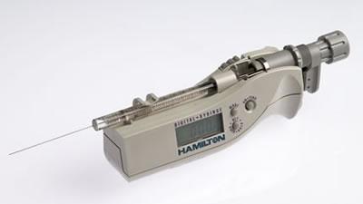 Цифровой микрошприц, встроенная игла, модель 1701N, объем 10 мкл (26s/51/3) / 1701 N 10µL DS (26s/51/3)