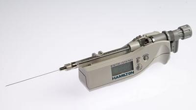 Цифровой микрошприц, встроенная игла, модель 7001N, объем 1 мкл (0,4770/2) / 7001 N 1µL DS (.47/70/2)