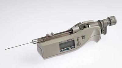 Цифровой микрошприц, встроенная игла, модель 1702N, объем 25 мкл (22s/51/3) / 1702 N 25µL DS (22s/51/3)