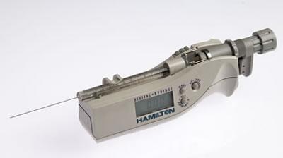 Цифровой микрошприц, встроенная игла, модель 701N, объем 10 мкл (26s/51/3) / 701 N 10µL DS (26s/51/3)