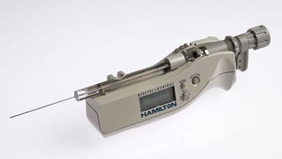 Цифровой микрошприц, встроенная игла, модель 702N, объем 25 мкл (22s/51/3) / 702 N 25µL DS (22s/51/3)