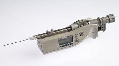 Цифровой микрошприц, встроенная игла, модель 710N, объем 100 мкл (22s/51/3) / 725 N 250µL DS (22s/51/2)