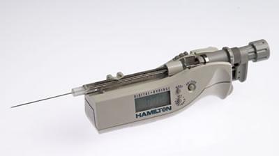 Цифровой микрошприц, встроенная игла, модель 1710N, объем 100 мкл (22s/51/2) / 1710 N 100µL DS (22s/51/2)