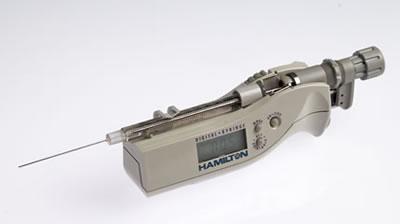 Цифровой микрошприц, встроенная игла, модель 1710N, объем 100 мкл (22s/51/3) / 1710 N 100µL DS (22s/51/3)