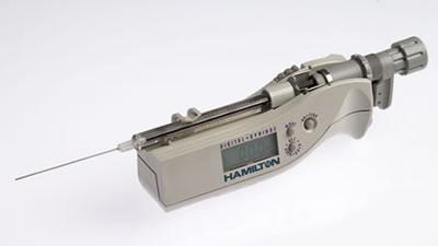Цифровой микрошприц, встроенная игла, модель 1725N, объем 250 мкл (22s/51/3) / 1725 N 250µL DS (22s/51/3)