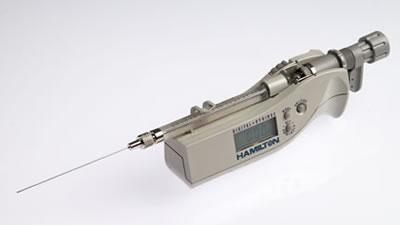 Цифровой микрошприц, встроенная игла, модель 7105N, объем 5 мкл (0,56/70/3) / 7105 N 5µL DS (.56/70/3)