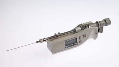 Цифровой микрошприц, встроенная игла, модель 7105N, объем 5 мкл (0,56/70/2) / 7105 N 5µL DS (.56/70/2)