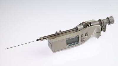 Цифровой микрошприц, встроенная игла, модель 7102N, объем 2 мкл (0,69/70/3) / 7102 N 2µL DS (.69/70/3)