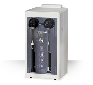 Microlab 635 Dual Syringe PC Controlled / DUAL PUMP PC CONTROLLED