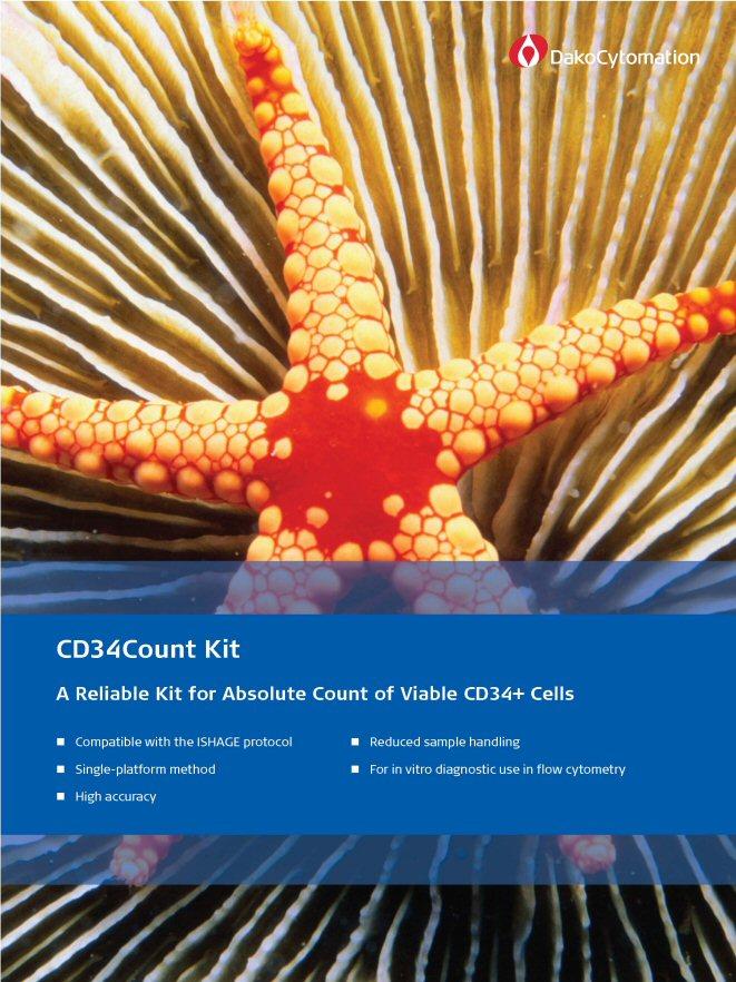 Набор для количественной оценки CD34 клеток