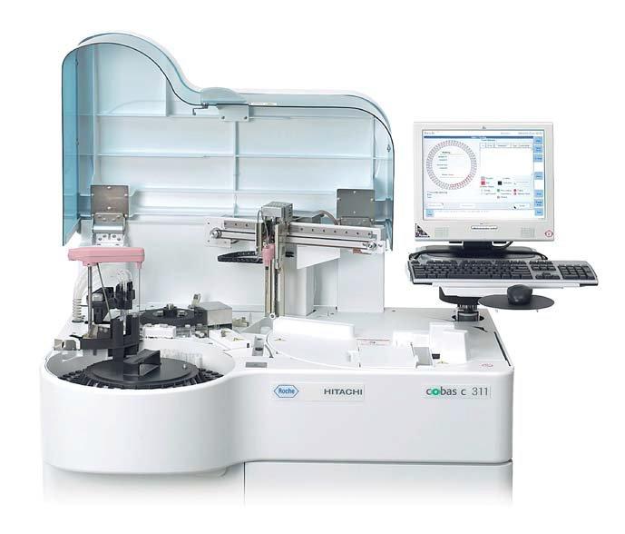 Автоматический биохимический анализатор Cobas c311 / Cobas 4000 c311 stand alone system