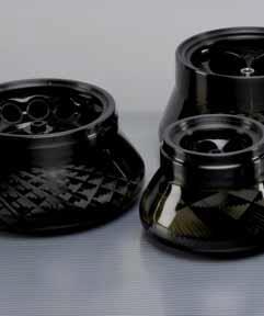 Устойчивые к воздействию коррозии углеволоконные роторы