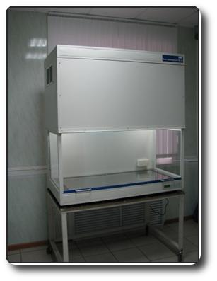 Бокс ламинарный микробиологической безопасности ЛБ1К, Ширина бокса, мм 1200
